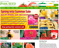 Parks seeds coupons