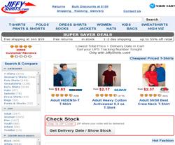 Jiffy Shirts Coupon codes