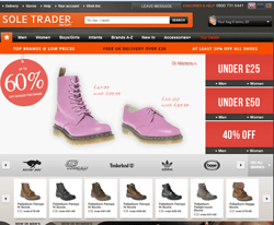 Sole Trader Outlet Discount Code