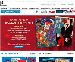 Shop DC Entertainment Coupon