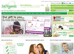 So Organic Voucher Codes