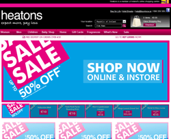 Heatons Discount Codes