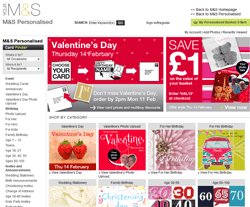 M&S Personalised Cards Discount Code