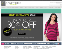 a pea in the pod coupon free shipping