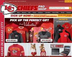 KC Chiefs Shop Promo Codes