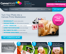 Canvas World Coupon