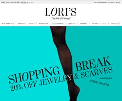 Lori's Shoes Coupon