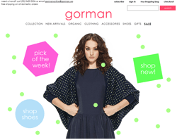 Gorman Discount Codes