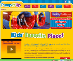 Pump It Up Coupons