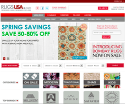 Rugs Usa Website View
