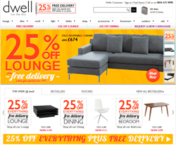 Dwell UK Discount Codes