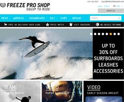 Freeze Pro Shop Discount Codes