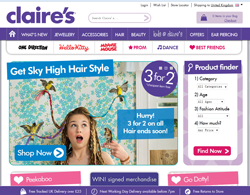 Claire's UK Discount Codes