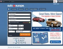 Auto Europe Canada Promo Codes