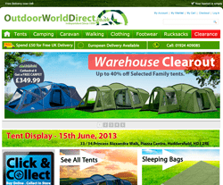 Outdoor World Direct Discount Codes