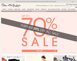 Miss Selfridge UK Discount Codes