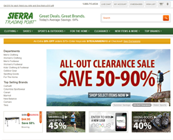 Sierra Trading Post promo code