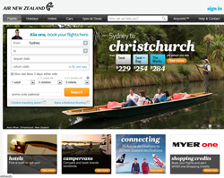 Latest Air New Zealand Australia Promo Codes Coupons
