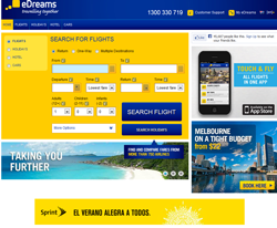 eDreams Australia Promo Codes