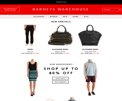 Barneys warehouse coupon code