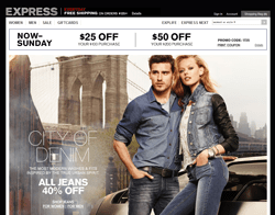 Express promo code