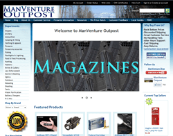 ManVenture Outpost Coupons