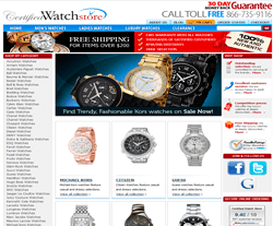 CertifiedWatchStore Coupon