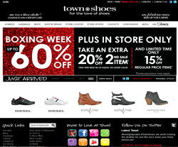Check out all Town Shoes Coupons, Promo Codes & Sales to get the best prices! Promo. Save Get Deal. Up To 50% OFF On Sale Items + FREE Shipping. Expires: On going. Details: Save Up To 50% OFF Sale Items + FREE Shipping on orders over $ Shop now! Promo. Save Get Deal.