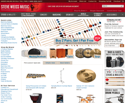 Steve Weiss Music Coupon