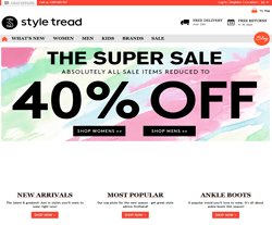 styletread free delivery coupon