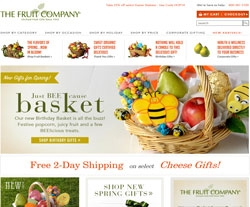 The Fruit Company has free shipping with some gift baskets and merchandise sent for the monthly fruit clubs. The company offers seasonal discounts for volume purchases. These usually involve entering a coupon code during checkout.