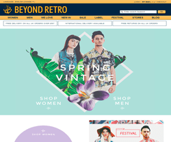 30% Off Beyond Retro Promo Codes - May 2019