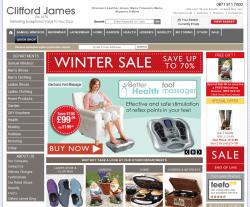 Clifford James Discount Codes