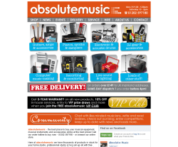 Absolute Music Voucher Codes
