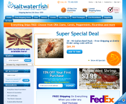 Saltwaterfish Coupon