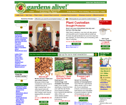 Gardens Alive! Promo Codes for December Save 50% w/ active Gardens Alive! Promo Codes, Single-use codes and Sales. Today's best mjsulapost.tk Coupon Code: Up to 50% Off on Your Order at Gardens Alive (Site-Wide). Get crowdsourced + verified coupons at Dealspotr/5(8).