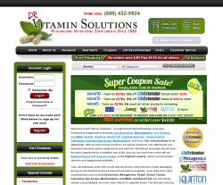 DR Vitamin Solutions Coupon