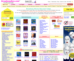 BroadwayBox Discount Codes