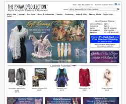Pyramid Collection Coupons All Active Pyramid Collection Promo Codes & Coupon Codes - December If myth, magic, fantasy and romance are your thing, then The Pyramid Collection is the online clothing, jewelry and gift store that will entrance you.