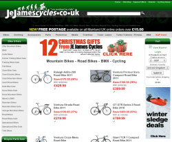 JE James Cycles UK Discount Codes