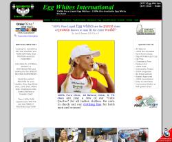 Egg Whites International Coupon