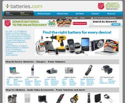 Batteries.com Coupons
