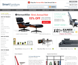 Smart Furniture Coupon Website View