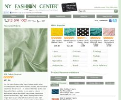 NY Fashion Center Fabrics Coupon