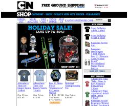 Cartoon Network Shop Coupon