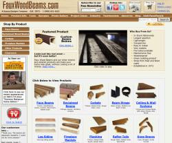 Faux Wood Beams Coupon