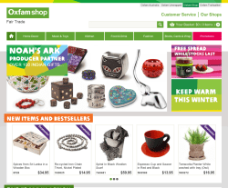 Oxfam Shop Promo Codes