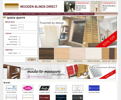 Wooden Blinds Direct Discount Codes