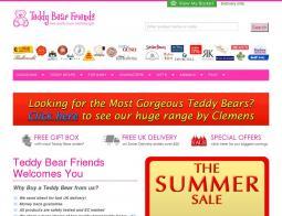 Teddy Bear Friends Discount Codes
