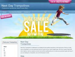 Next Day Trampolines Discount Codes